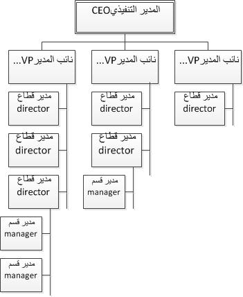الهيكل الهرمي